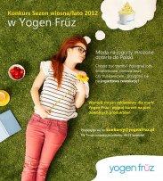 Wygrywaj w konkursie Yogen Früz!